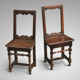 Two 18th Century Oak Lorraine Chairs - Main View - 2