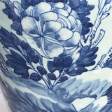Enormous 19th Century Chinese Porcelain Blue & White Vase - Detail View - 3