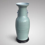 Enormous 19th Century Chinese Porcelain Blue & White Vase - Back View - 8