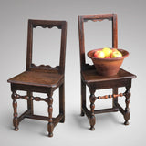 Two 18th Century Oak Lorraine Chairs - Main View - 1