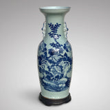Enormous 19th Century Chinese Porcelain Blue & White Vase - Main View - 1