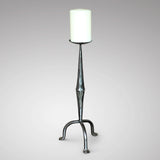 20th Century Polished steel Candle Sconce - Main View -1