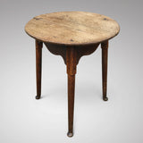19th Century Oak Cricket Table - Main View - 1
