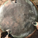 19th Century Copper Riveted & Seamed Log Bin - Underside View - 6