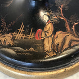 1930's Lacquered Table Lamp - Base Detail View - 3