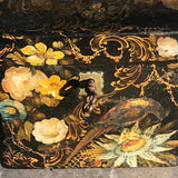 Early Victorian Papier Mache Envelope Box - Front Detail - 3
