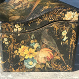 Early Victorian Papier Mache Envelope Box - Side Detail View  - 4