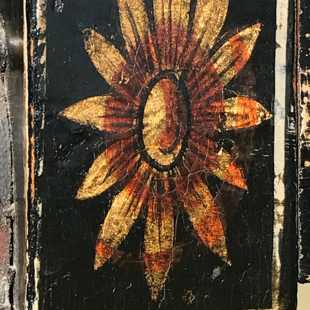 An Exceptional Pair of Regency Painted Chairs - Painted Decoration Detail - 10