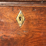 19th Century Oak Blanket Box - Detail View - 6