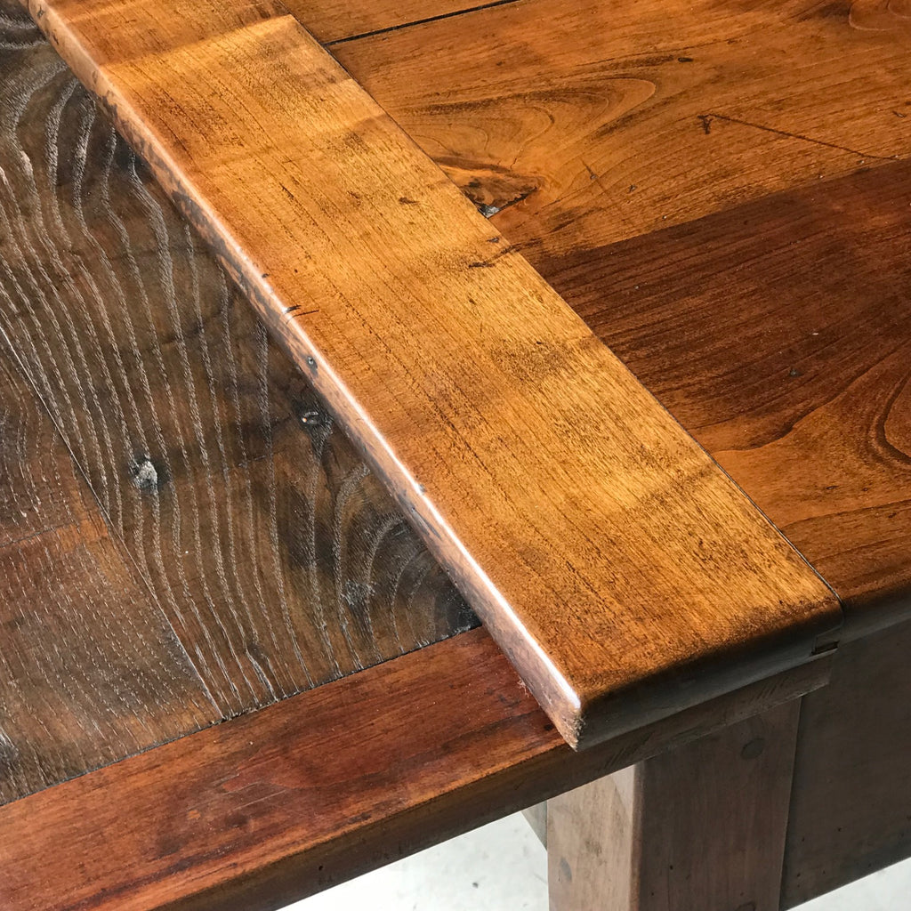 19th Century Fruitwood Extending Dining Table - Detail View - 9