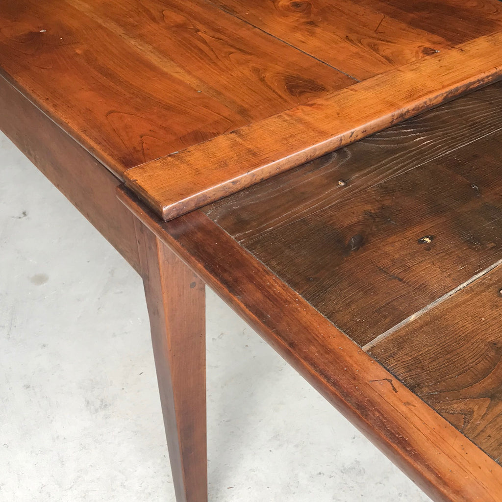 19th Century Fruitwood Extending Dining Table - Detail View - 8