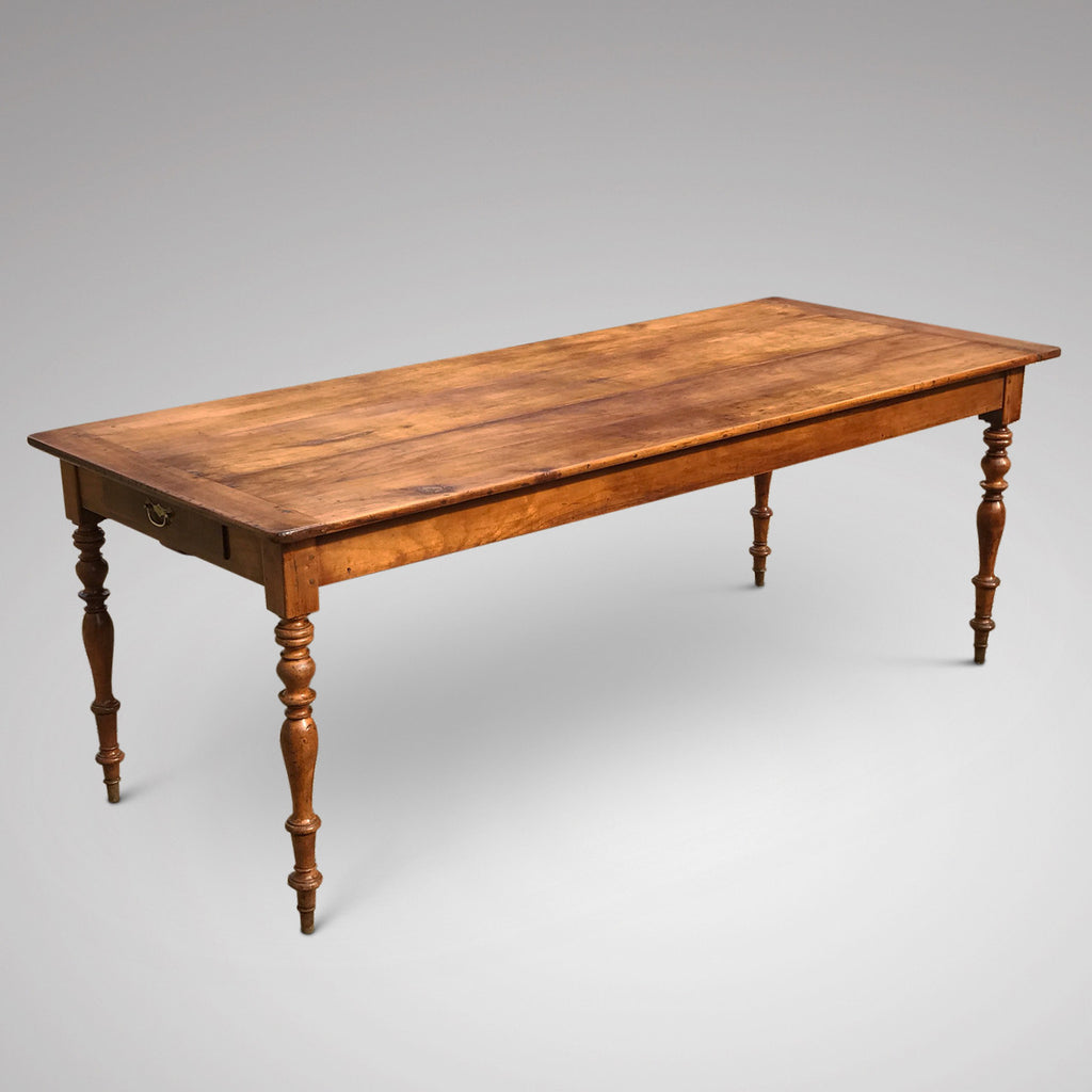 19th Century Fruitwood Dining Table - Main View -2