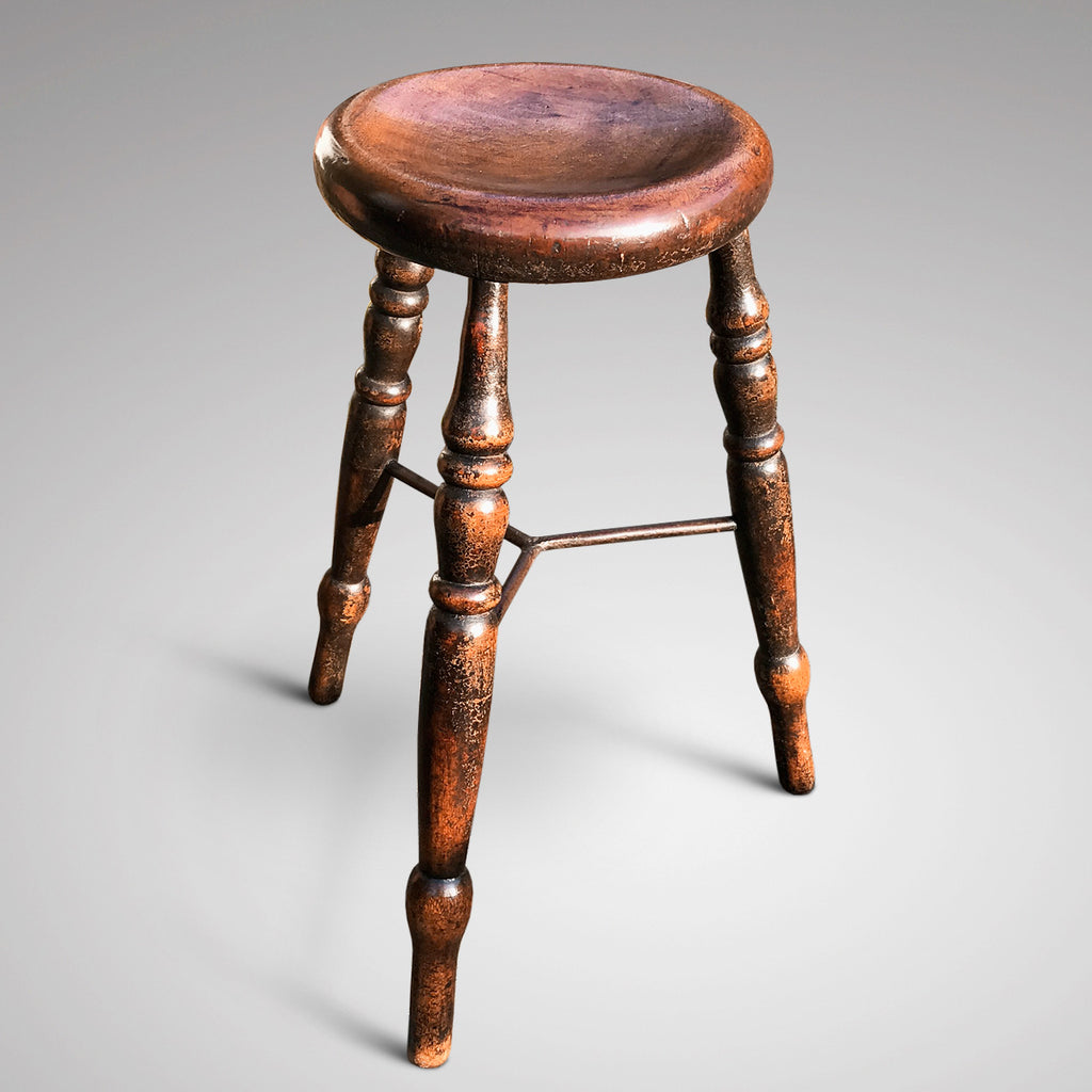19th Century Lace Maker's Stool - Main View - 1