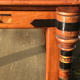 Aesthetic Movement Inlaid Two Tier Foot Stool - Detail View - 6
