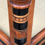 Aesthetic Movement Inlaid Two Tier Foot Stool - Detail View - 7