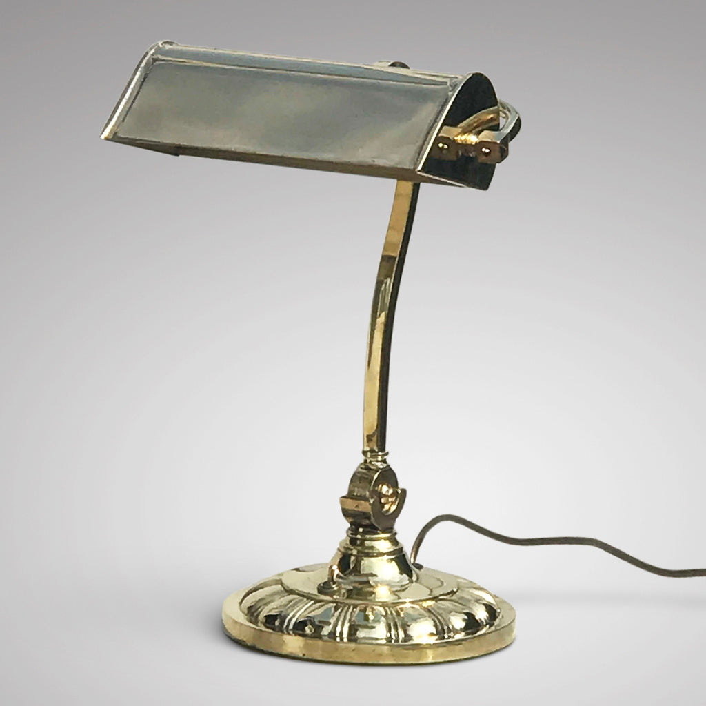 Adustable Brass Desk Lamp - Main View - 1