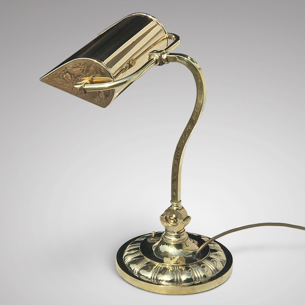 Adjustable Brass Desk Lamp - Main View - 2