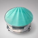 Silver & Enamel Jewellery Box - Main View - 2