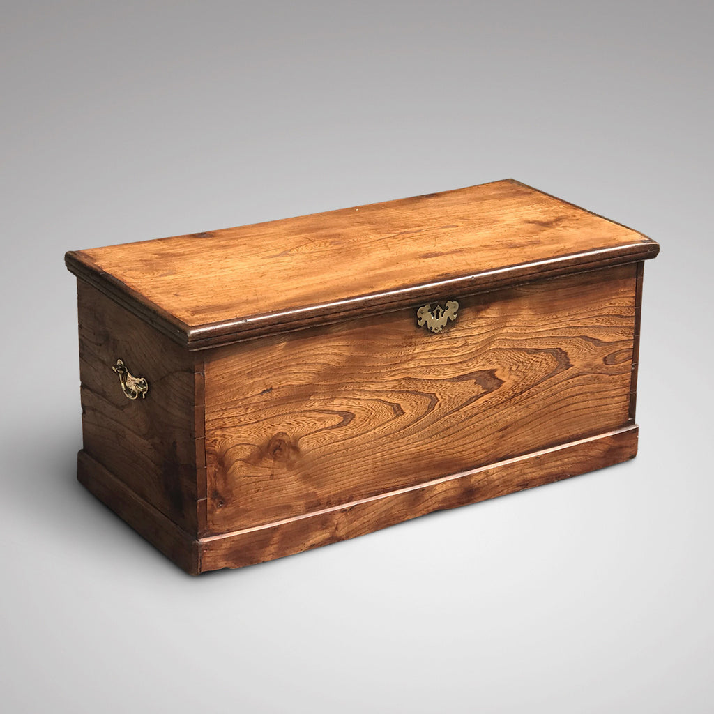 19th Century Elm Chest - Main View - 2