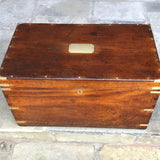 19th Century Camphor Campaign Trunk
