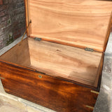 19th Century Camphor Campaign Trunk - Inside View - 5