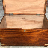 19th Century Camphor Campaign Trunk - Inside View - 7