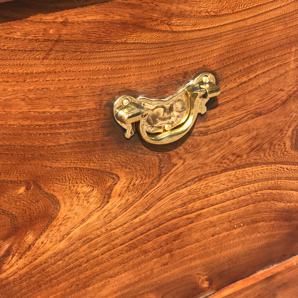 19th Century Elm Chest - Detail View - 4