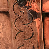 19th Century Twin Handled Copper Grain Measure - Detail View - 3