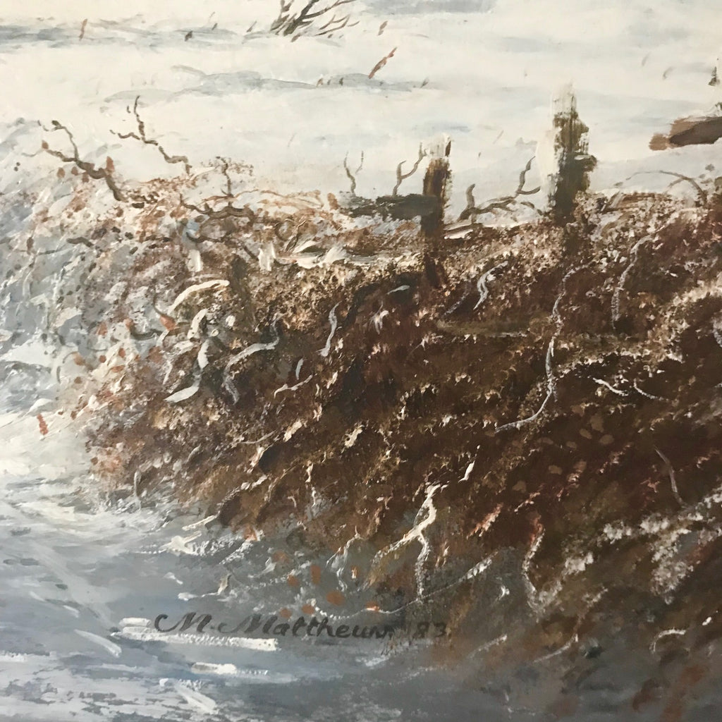 """The Journey Home"" Oil on Panel by Michael Matthews - Detail View - 3"
