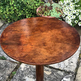 18th Century Tilt Top Walnut Tripod Table - Detail  View - 5