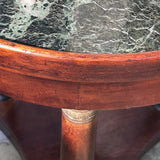 19th Century French Empire Side Table - Top Detail View - 2