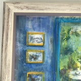 'View From the Blue Room' Oil on Canvas - Detail View - 6