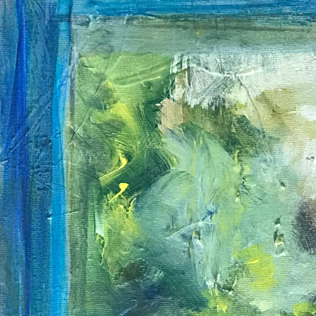 'View From the Blue Room' Oil on Canvas - Detail View - 4