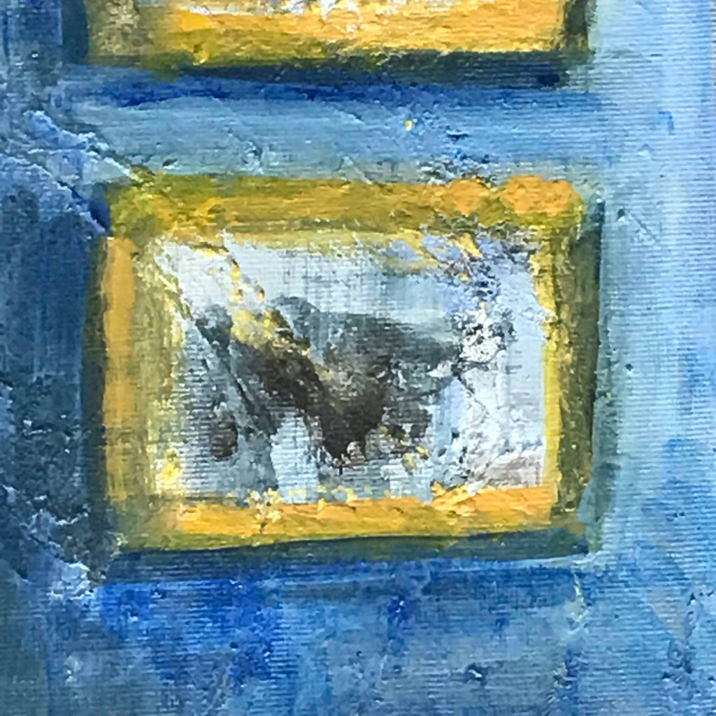 'View From the Blue Room' Oil on Canvas - Detail View - 3