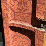 18th Century Chinoiserie Japanned Corner Cupboard - Door Detail - 13