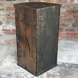 18th Century Japanned Corner Cupboard - Back View - 9