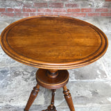 19th Century Walnut Turners Table - Top View - 2