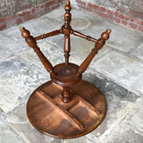 19th Century Walnut Turners Table - Underside View - 10
