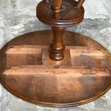 19th Century Walnut Turners Table - Underside View - 9