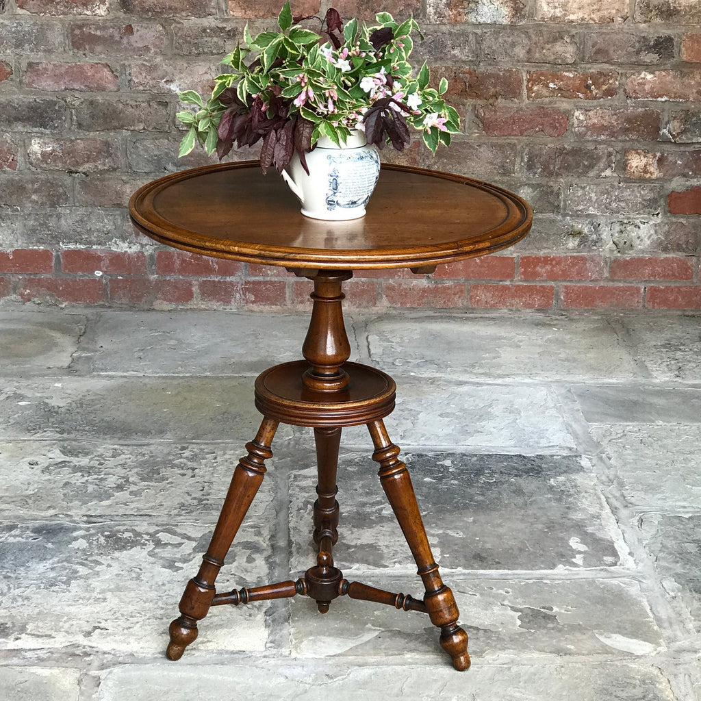 19th Century Walnut Turners Table - Main View - 1