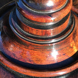 William IV Rosewood Circular Tilt Top Lamp Table - Detail View - 6