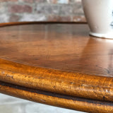 19th Century Walnut Turners Table - Detail of Rim - 5