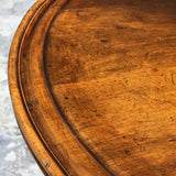 19th Century Walnut Turners Table - Detail of Top - 7