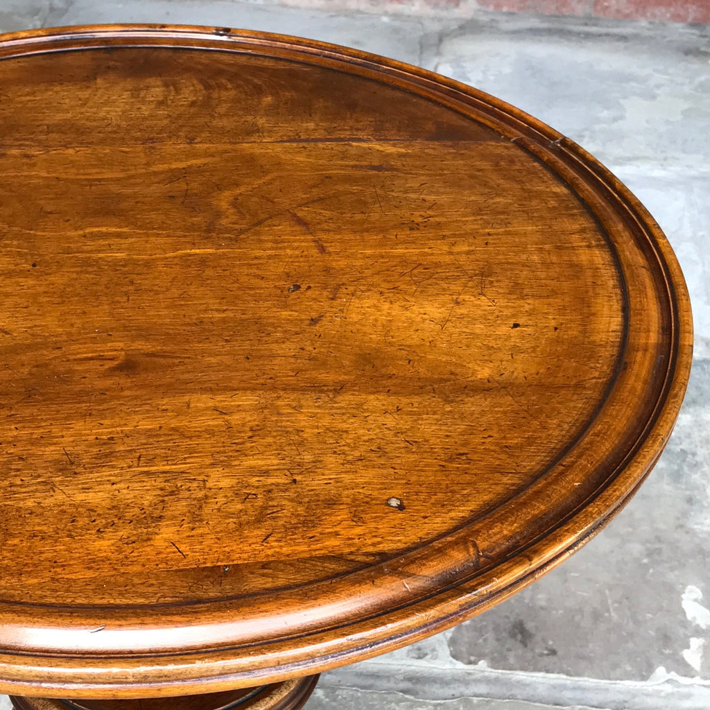 19th Century Walnut Turners Table - Detail of Top - 8
