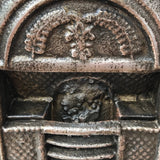 19th Century Sample Cast Iron Fireplace - Detail View - 5