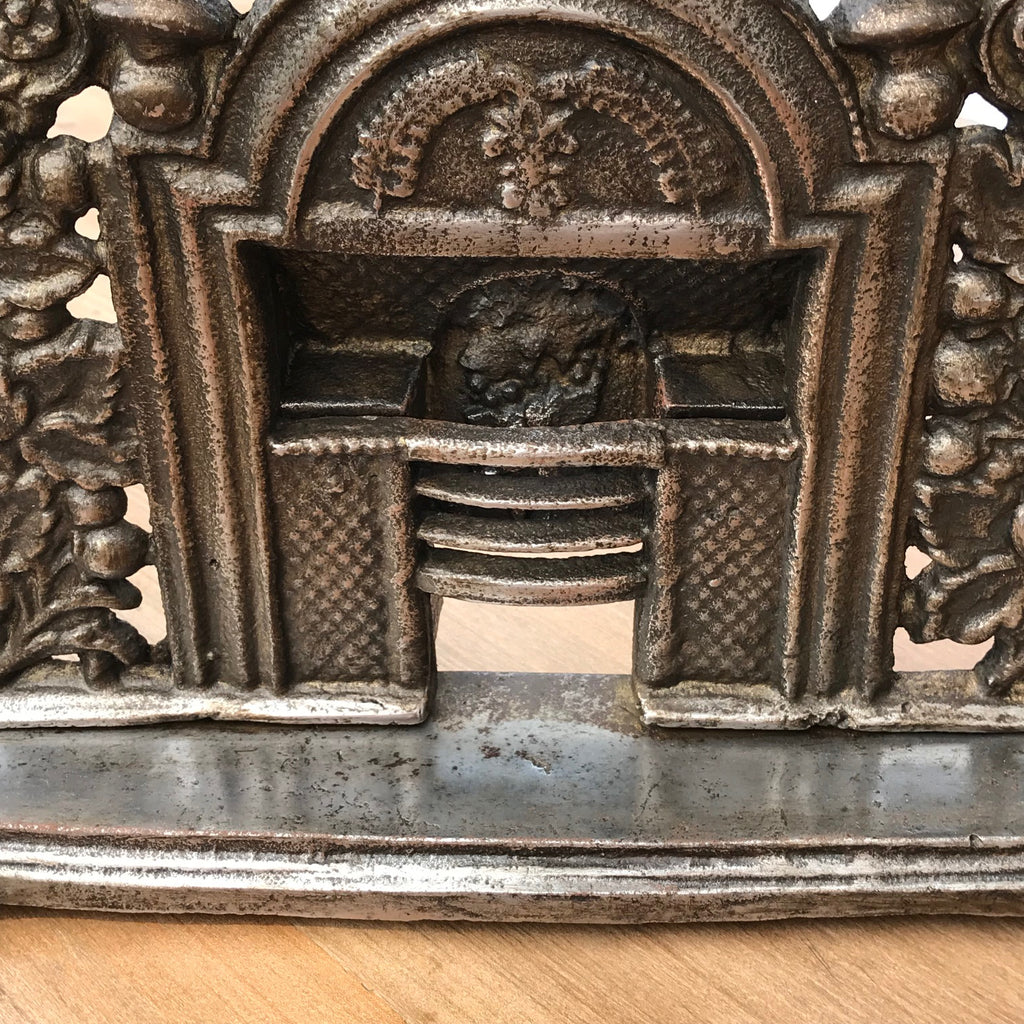 19th Century Sample Cast Iron Fireplace - Detail View - 2