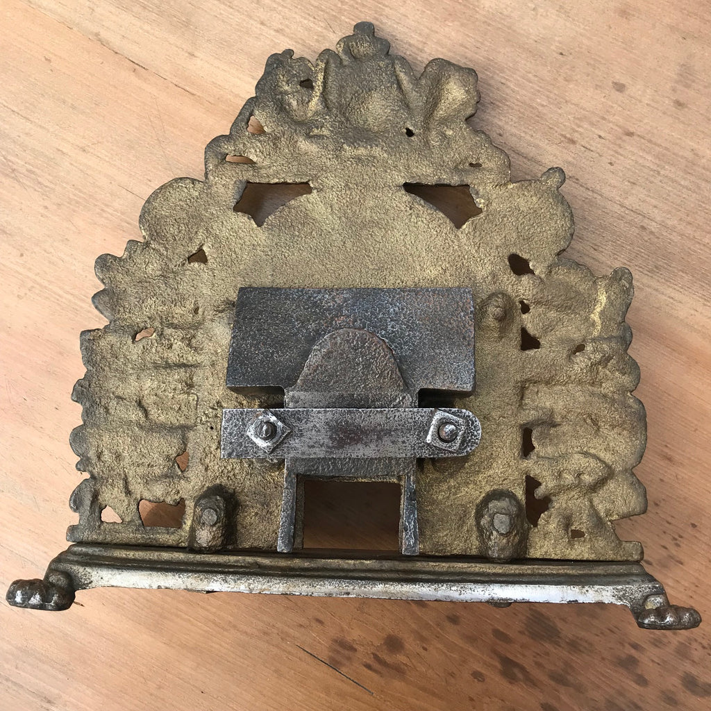 19th Century Sample Cast Iron Fireplace - Detail View - 6