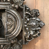 19th Century Sample Cast Iron Fireplace - Detail View - 4