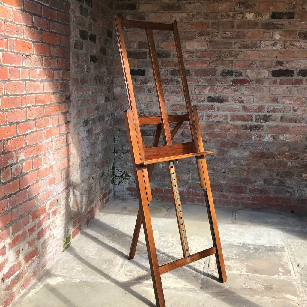 19th Century Mahogany Artists Easel by Vokins - Main View - 1
