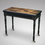 19th Century Coromandel Card Table by Gregory & Co - Main View - 1